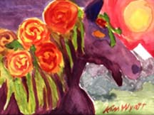 Wildfire In the Winners Cirle Copyrighted by Kim Wyatt