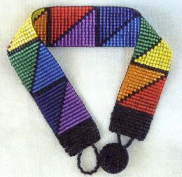 Roy G. Biv Bracelet Kit; © copyright 2000 Mary Timme; This is not public domain